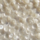 CLEARANCE Bulk Bag 100g 5mm Satin White Semi-cupped Sequins SAVE £13